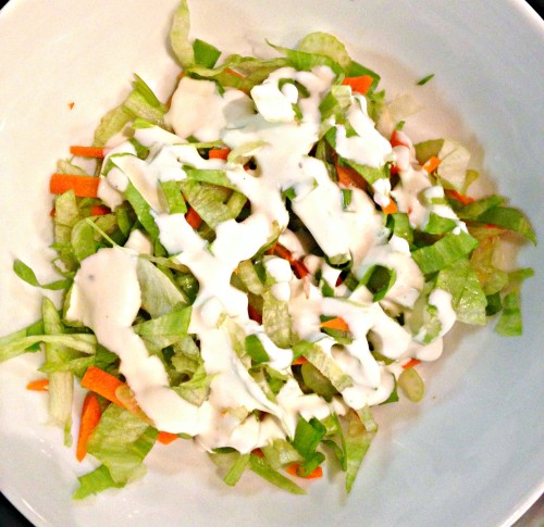 creamy ranch slaw