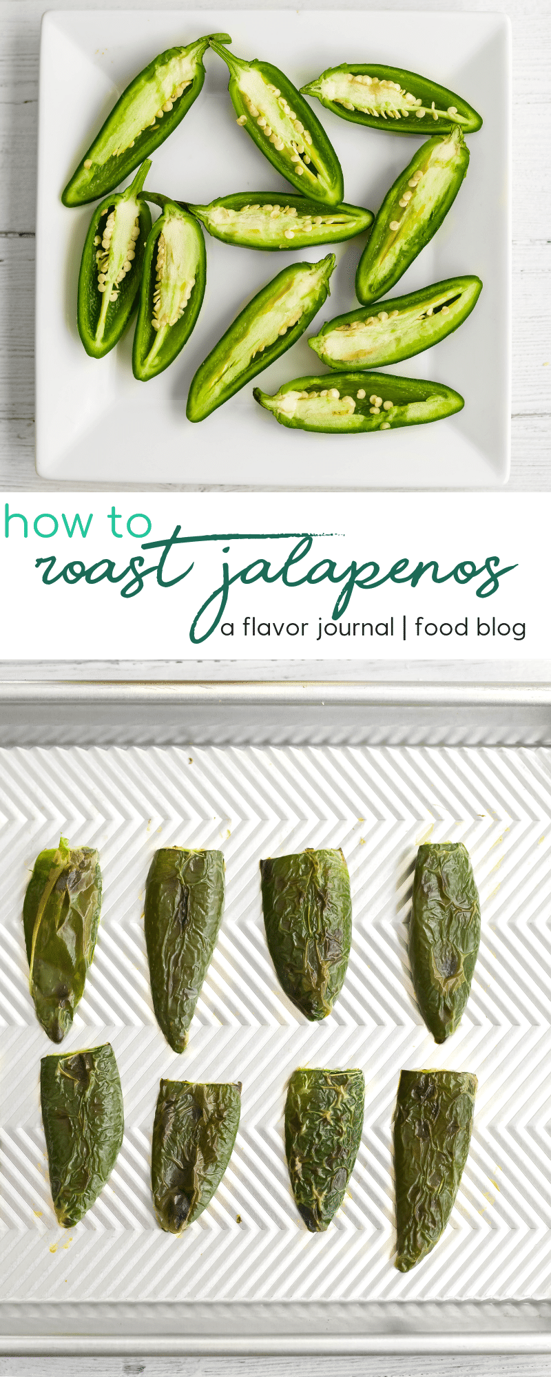 how to make roasted jalapeños in the oven