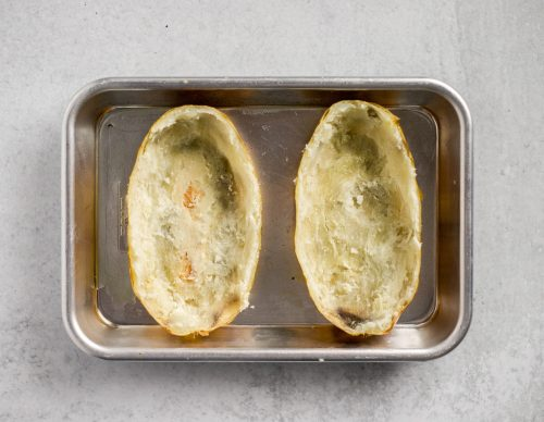 loaded twice baked potatoes for two :: a perfect date night side dish that is PACKED with flavor!