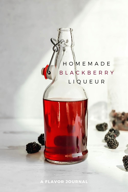 how to make homemade blackberry liqueur