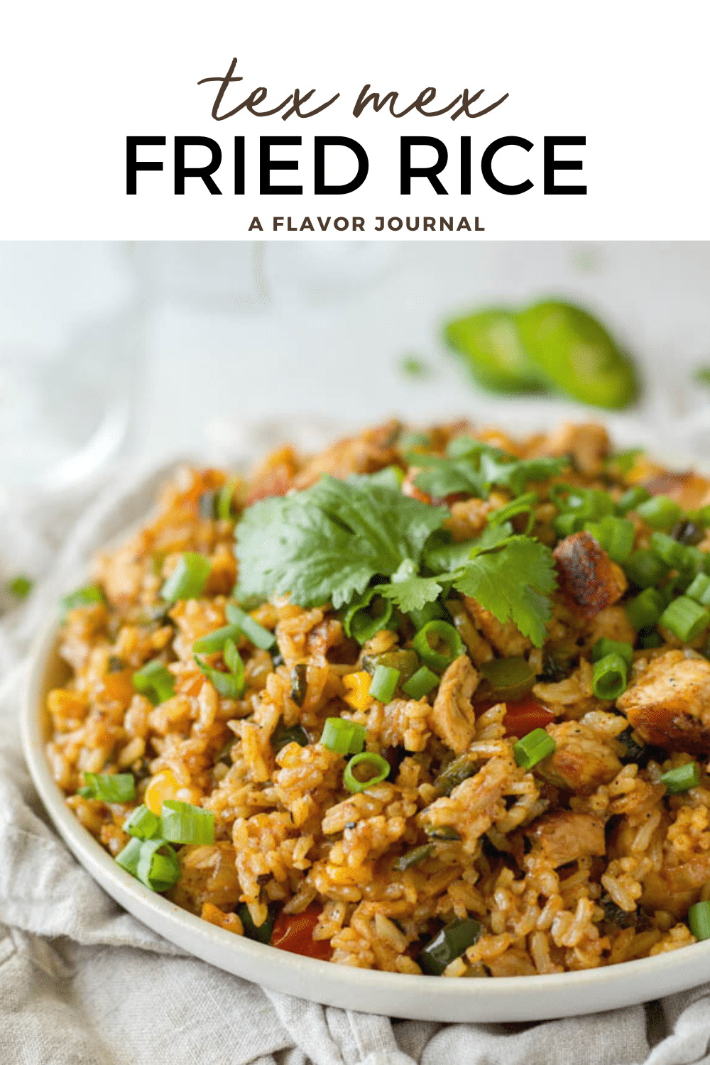 Tex-Mex Fried Rice with Chicken