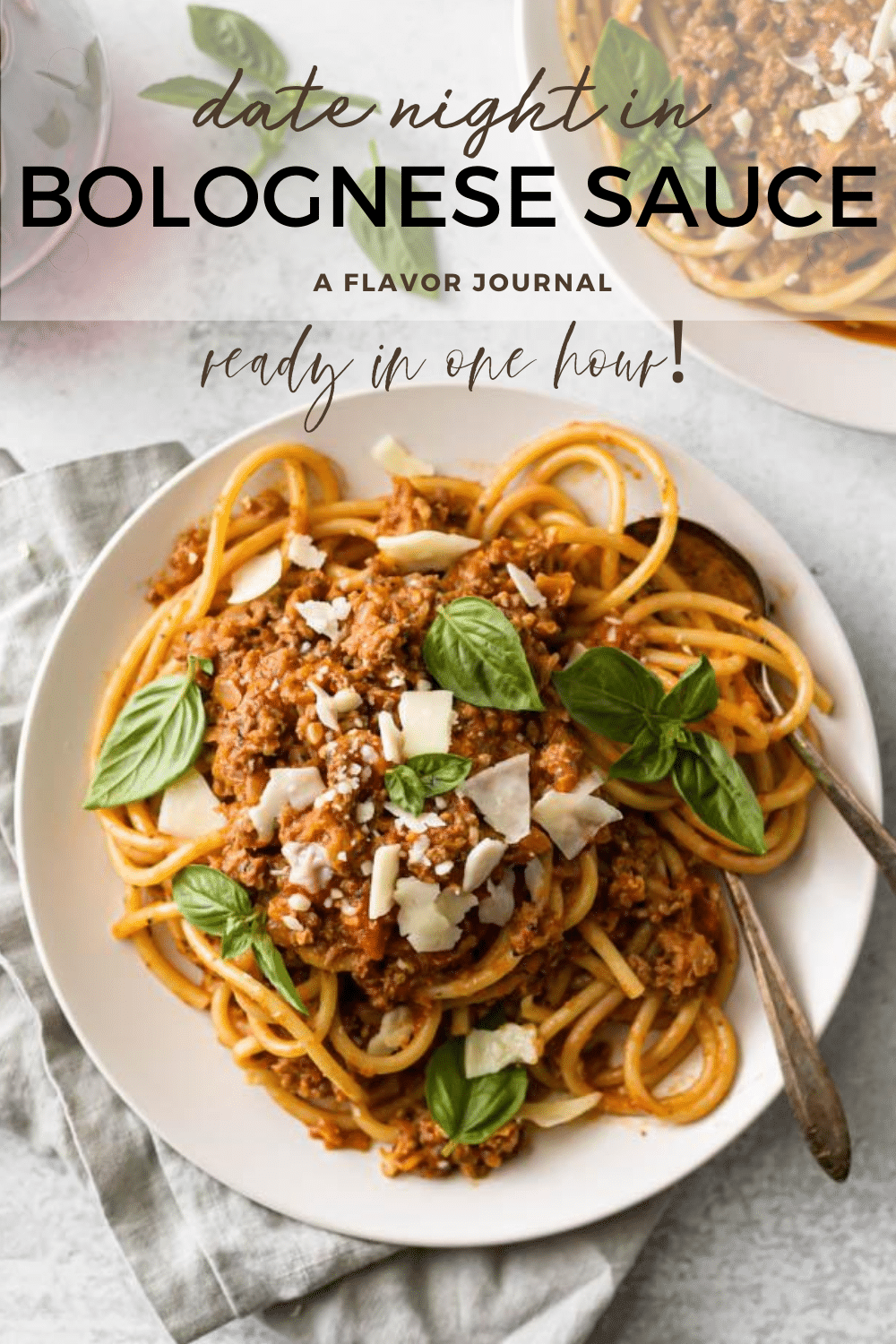 Easy Date Night Bolognese Sauce