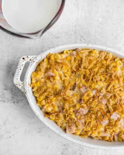 Cheesy Corn Recipe with Midwest Dairy