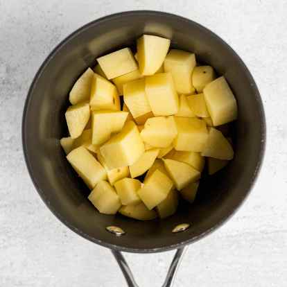 Buttery Small Batch Mashed Potatoes-5
