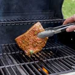 Kansas Beef Marinated Flank Steak and Vegetable Hash-8