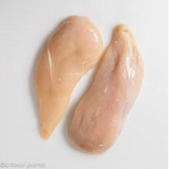 Chicken breast for a kale chicken salad.