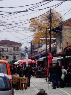 Le centre-ville de Gjakovë