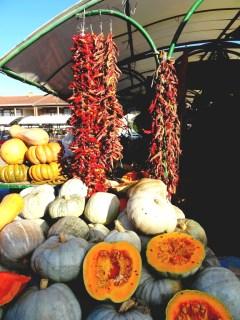 Un marché au Kosovo