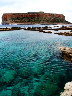 La plage de Balos