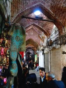 Le Bazar de Tabriz, le plus vaste de l'Orient