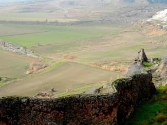 Pamukkale - les barrières de calcaire