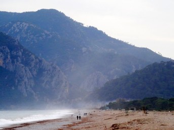 Les plages d'Olympos