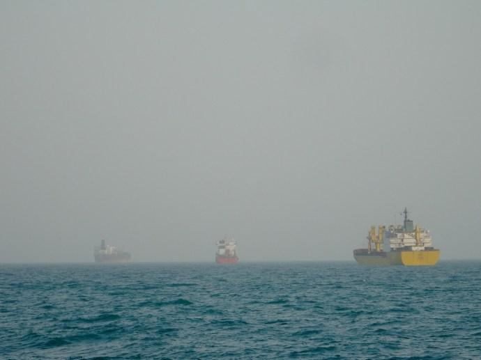 Le golfe persique, l'autoroute du pétrole