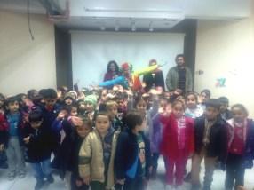 Une classe de maternelle en Turquie