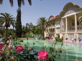 Un jardin à Shiraz