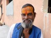 Inde : Belle barbe à Baba