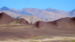 Inde, Ladakh : ficelle de mantras tibétains