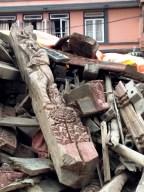 Kathmandou après le tremblement de terre