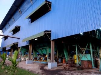 Une usine dans la jungle