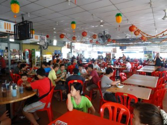 Food court à la malaise