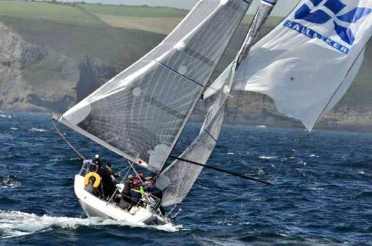 UK Sails downwind 1
