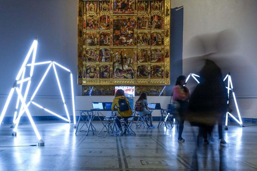 Samsung Digital Classroom V&A Raphael Gallery