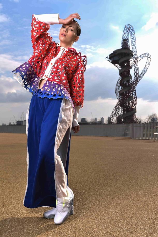 Concept To Catwalk 2015 Jude Furey Emily Jerez Ursuline School Valentina Coraglia Ying Shen Natalia Krajcikova (model) www.benbromfield.com