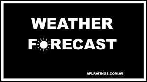2021 AFL Weather Forecast: Round 14