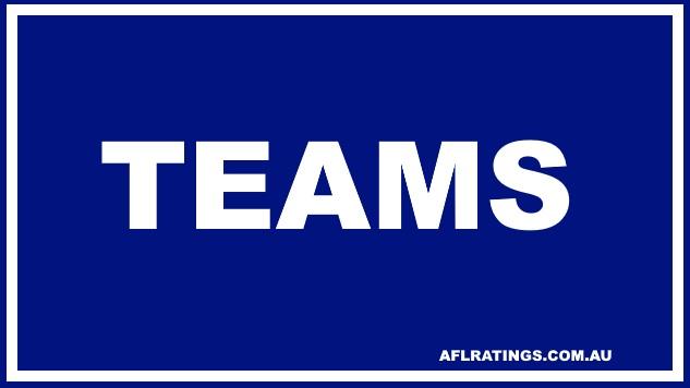 2021 Teams: Round 19