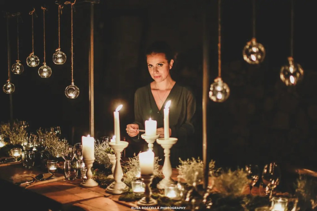 wedding planner candele organizzazione