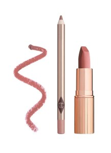 Charlotte Tilbury Luscious Lip Slick Duo in Pillow Talk –