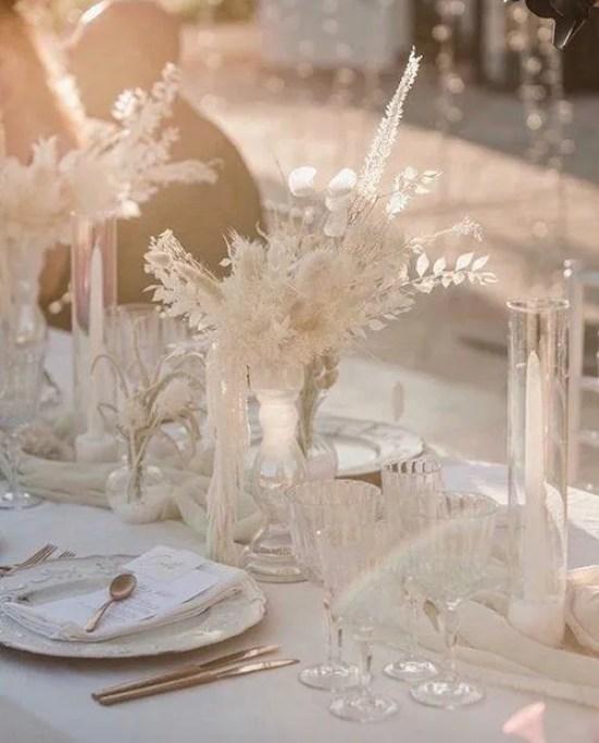 tavolo imperiale fioraio secchi per matrimonio