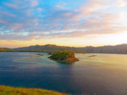 Sunset in Komodo National Park, Flores