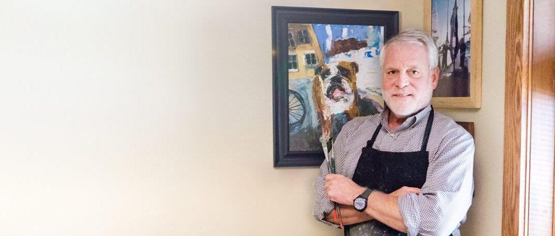 From Patient Relationships to Picturesque Paintings, Dr. Tom Nevrivy is Called to Create