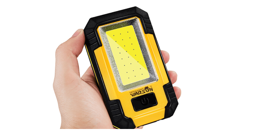 warsun portable led rechargeable work