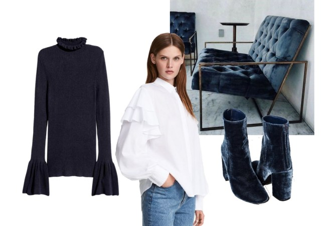 Latest obsessions | Ruffles & Navy