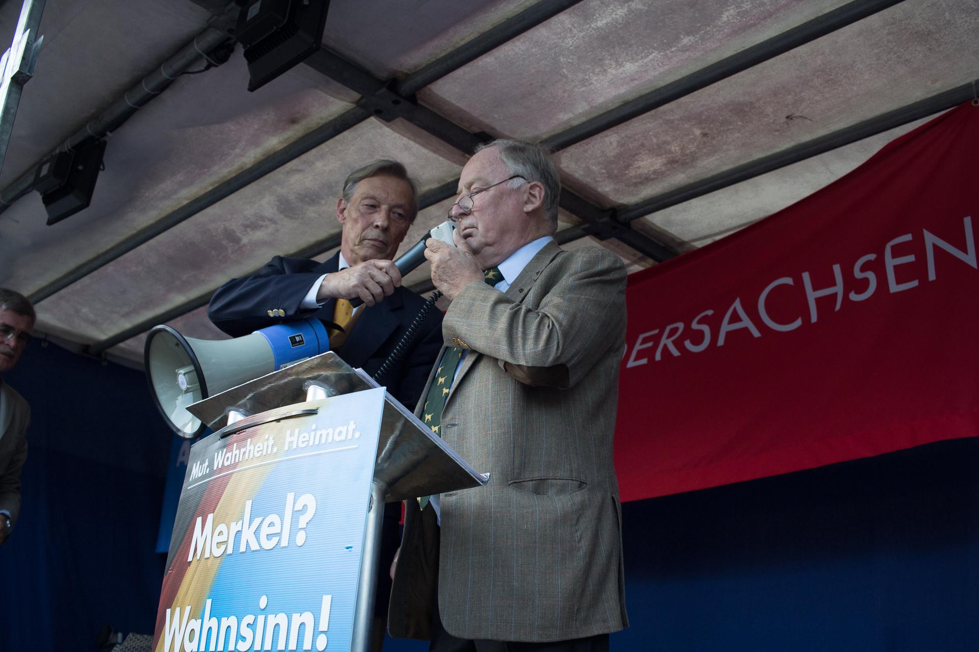 Wahlkampfveranstaltung mit am 06.09. in Uelzen