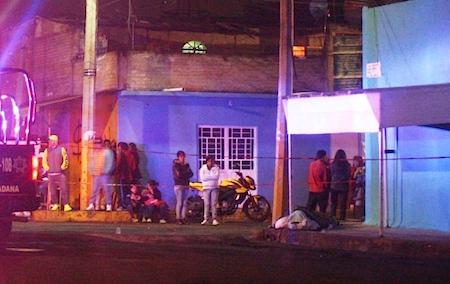 El asesinato ocurrió sobre la calle Cerro del Tepeyac.
