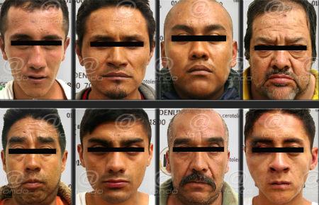 Dos de los detenidos son menores de edad.