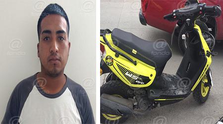 La moto fue robada desde el pasado mes de abril.