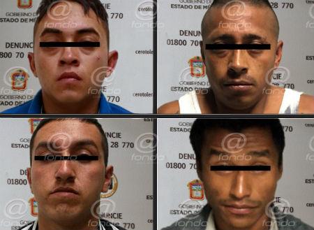 Los delincuentes fueron reconocidos por sus víctimas.