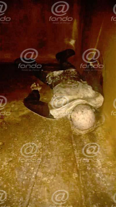 Encuentran cadáver descompuesto en pozo de agua que consumen vecinos de Chimalhuacán