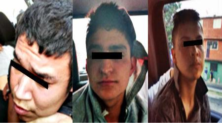 Los sujetos fueron identificados por su víctima.