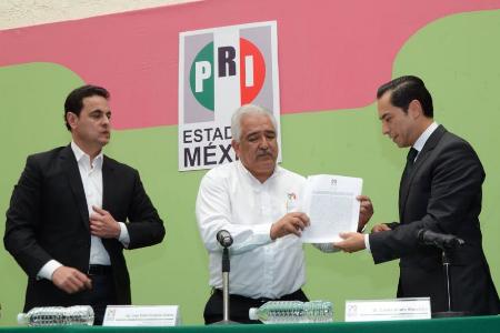 Lanza PRI convocatoria para aspirantes a gobernador en Edomex