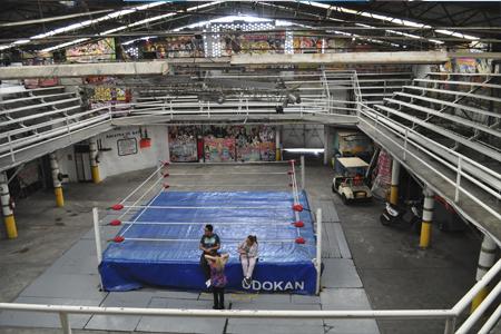 VIDEO: Arena Azteca Budokan, 55 años de historia de la lucha libre en Neza