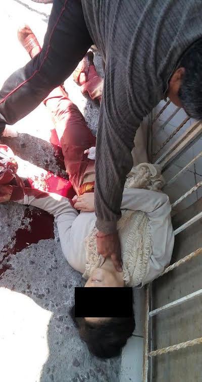 Delincuentes balean a una mujer por no soltar su bolsa en Ecatepec