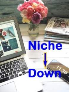 Niched down niche . . . As a factor to rank on Google's first page.