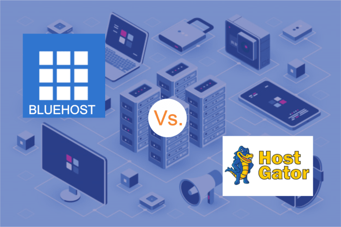bluehost and hostgator