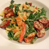 Pasta Primavera - Chock Full of Garden Veggies!