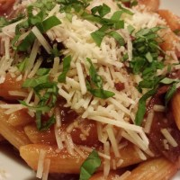 Pepperoni Mushroom Pasta